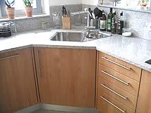 Kuche holz und glas schreinerei for Eckunterschrank küche